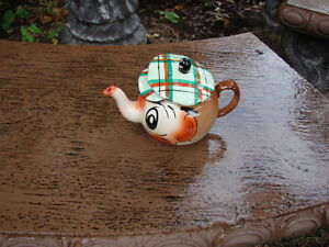 Tea pot Wade -Hand painted