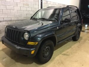2005 Jeep Liberty renegade,, 150,000km