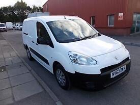 Peugeot Partner L2 750 S 1.6 HDI 92BHP VAN DIESEL MANUAL WHITE (2013)