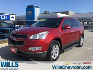 2012 Chevrolet Traverse AWD | LEATHER | ONE OWNER | 2LT