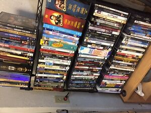 CDs, DVDs, VHS movies