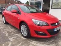2013 13 VAUXHALL ASTRA 1.4 ENERGY 5D 98 BHP ONLY 27K MILES!!!!!!!