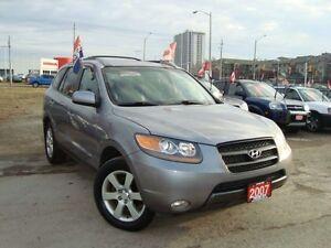 2007 Hyundai Santa Fe GL Premium Leather Sunroof Accident Free