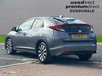 2015 Honda Civic 1.8 I-Vtec Se Plus 5Dr Auto Hatchback Petrol Automatic