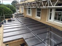 Lead & natural slate roofing contractors London. Lead dormer , lead flashing , lead boxgutter