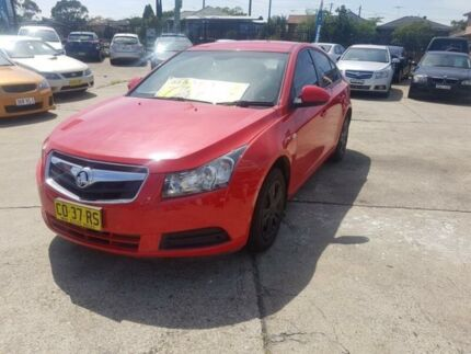 2009 Holden Cruze JG CD Red 5 Speed Manual Sedan Fairfield East Fairfield Area Preview