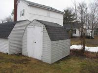 8 x 8 Storage shed
