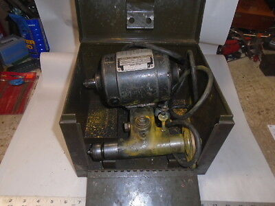 Machinist Lathe Mill Machinist Dumore 44 - 011 Tool Post Grinder In Case