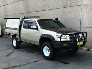 2008 Mazda BT-50 B3000 Freestyle SDX (4x4) Gold 5 Speed Manual Pickup Revesby Bankstown Area Preview