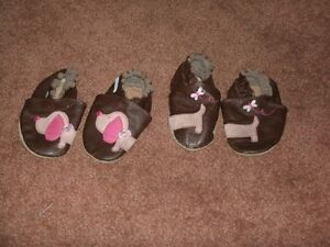 Baby Girl's Robeez Footwear, Size 6-12 Mo.