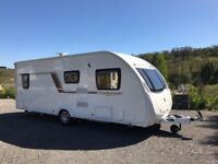 4, 5 and 6 Berth Touring Caravans available to hire for holidays/weekends/events/festivals