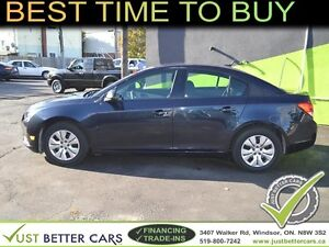 2014 Chevrolet Cruze LS - YOU CAN OWN RIGHT NOW FOR $51/week