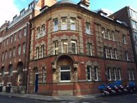 Superb, spacious (25 sq meters) self-contained office in renovated Grade II listed building in BS1