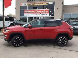 2018 Jeep Compass LIMITED 4X4|LEATHER|NAVIGATION|PANORAMIC SUNRO