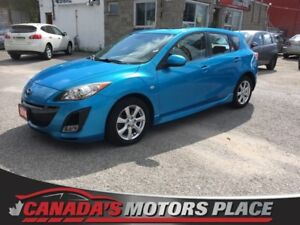 2010 Mazda Mazda3 GT GT w/ BT, SUNROOF, WELL MAINTAINED