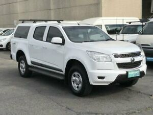 2015 Holden Colorado RG MY15 LS (4x4) White 6 Speed Automatic Crew Cab Pickup Revesby Bankstown Area Preview