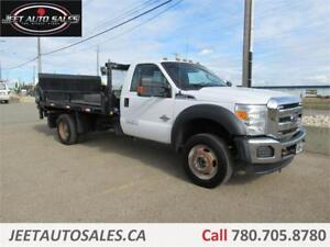 2012 Ford Super Duty F-550 DRW XLT 12FT F/Bed Lift Gate