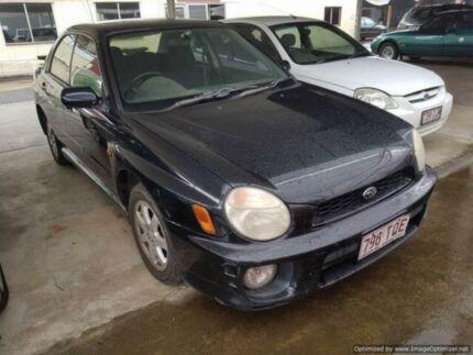 2001 Subaru Impreza MY01 RX (AWD) Blue Black 5 Speed Manual Sedan