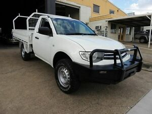 2009 Mitsubishi Triton ML MY09 GLX White 5 Speed Manual Cab Chassis Yeerongpilly Brisbane South West Preview