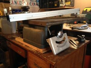 "8"" table saw, belt drive"