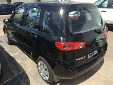 2005 Mazda 2 DY Neo Black 4 Speed Automatic Hatchback