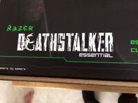 razer deathstalker essential keyboard brand new