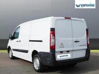 2014 Citroen Dispatch 1000 1.6 HDi 90 H1 Van Enterprise Diesel white Manual