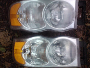 2 front and 2 rear lights for a 2004 dodge 4x4