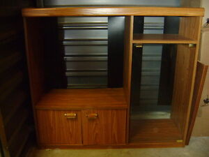 """Entertainment Unit and 25"""" Television"""