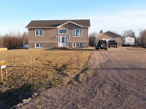 STURGEON FALLS 2 1/2 years old Custom built home on 1 acre lot