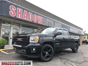 2015 GMC Sierra - 4x4 back up Cam - double cab-Black out rims