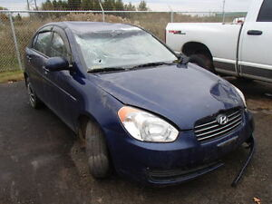 parting out 2010 hyundai accent