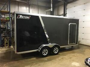 2017 Triton CT-167R 7x16+2ft V-Nose Aluminum Trailer