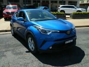 2017 Toyota C-HR NGX10R (2WD) Tidal Blue Continuous Variable Wagon Wellington Wellington Area Preview