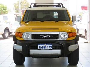 2012 Toyota FJ Cruiser GSJ15R Yellow 5 Speed Automatic Wagon Morley Bayswater Area Preview