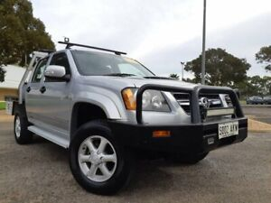 2010 Holden Colorado RC MY10 LX Crew Cab Silver 4 Speed Automatic Utility Gepps Cross Port Adelaide Area Preview
