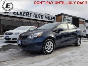 2014 KIA RIO LX+ECO  DON'T PAY FOR 6 MONTHS OAC!!