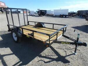 5 X 10 UTILITY TRAILER - 2,995# GVWR ** OUT THE DOOR PRICES **