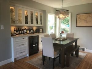 Luxurious furnished two bed home in New Westminster/massive yard