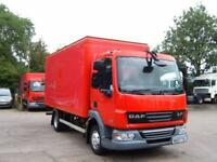2007 DAF LF 45.140 BOX VAN WITH FULL SIZE TAIL LIFT