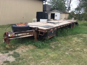 2010 TRAILTECH HD 26' with 5' BEAVERTAIL TAG TRAILER