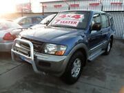 2001 Mitsubishi Pajero NM GLS Blue 5 Speed Sports Automatic Wagon Coburg North Moreland Area Preview