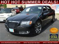 2014 Chrysler 300 S V6 with LEATHER, PANORAMIC ROOF, LOADED!