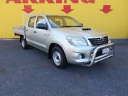 2012 Toyota Hilux KUN16R MY12 SR Double Cab 4x2 Silver 5 Speed Manual Utility Winnellie Darwin City Preview