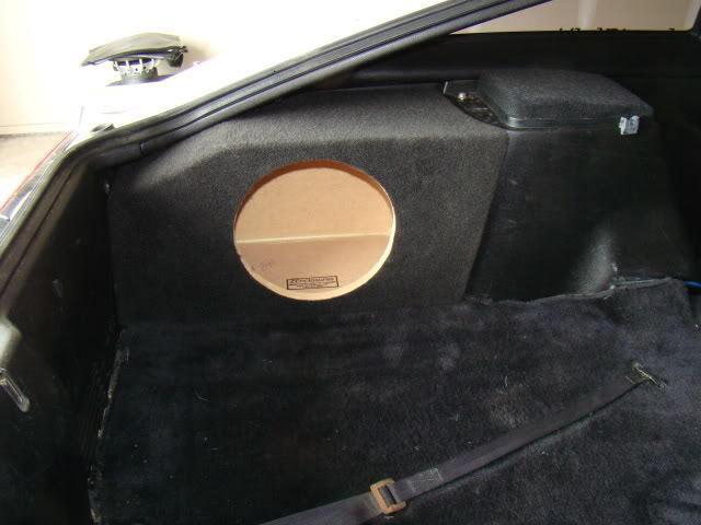 """ZEnclosures SUBWOOFER BOX 1-10"""" FOR 1984-1989 NISSAN 300ZX"""