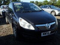 VAUXHALL CORSA D 2008 BLACK BREAKING FOR SPARES TEL 07814971951 HAVE FEW IN STOCK