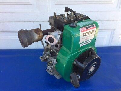 10hp Briggs Strattonn Coleman Powermate Horizontal Generator Pump Etc Engine