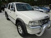 2006 Ford Courier PH XLT (4x4) White 5 Speed Automatic Crew Cab Pickup Oxley Brisbane South West Preview