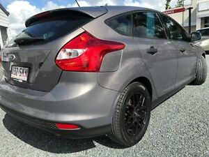 2012 Ford Focus LW MKII Ambiente PwrShift Lunar Sky 6 Speed Sports Automatic Dual Clutch Hatchback Mount Pleasant Mackay City Preview