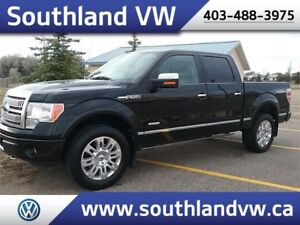 2011 Ford F-150 PLATINUM **4X4-LEATHER**